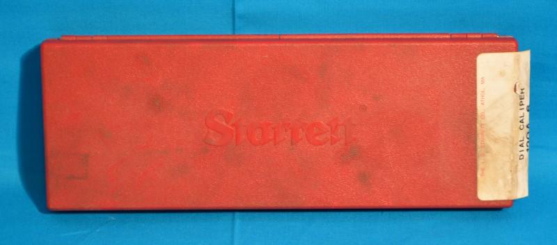 """STARRETT 120A-6 Dial Caliper 0-6"""" Range 0.001 Graduations"""