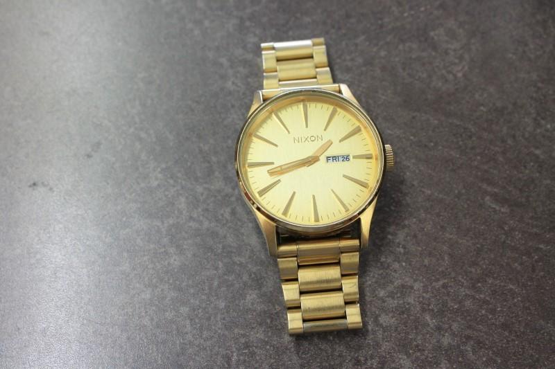 NIXON Gent's Wristwatch THE SENTRY SS
