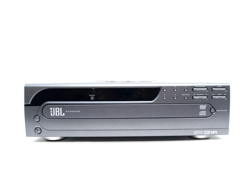 JBL DVD600II 5 Disk DVD/CD Player AS IS No Remote Tray Sticks>