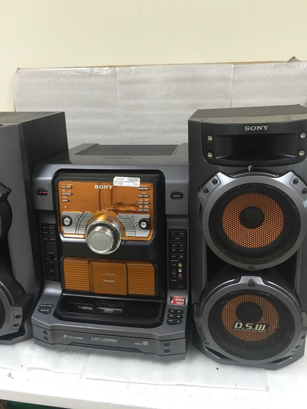 SONY CD Player & Recorder LBT-ZX66I