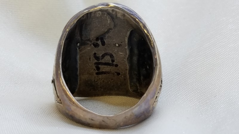 Gent's Silver Ring 925 Silver 24.1g