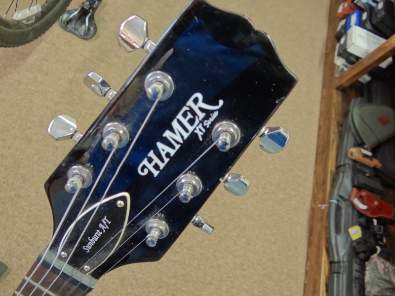 HAMER GUITARS Electric Guitar XT SERIES SUNBURST A/T