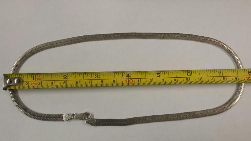 Herringbone Chain 59.1 Silver 15.54dwt