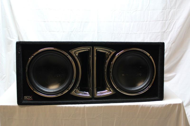 "SDX AUDIO Speakers/Subwoofer 12"" SUBWOOFERS"