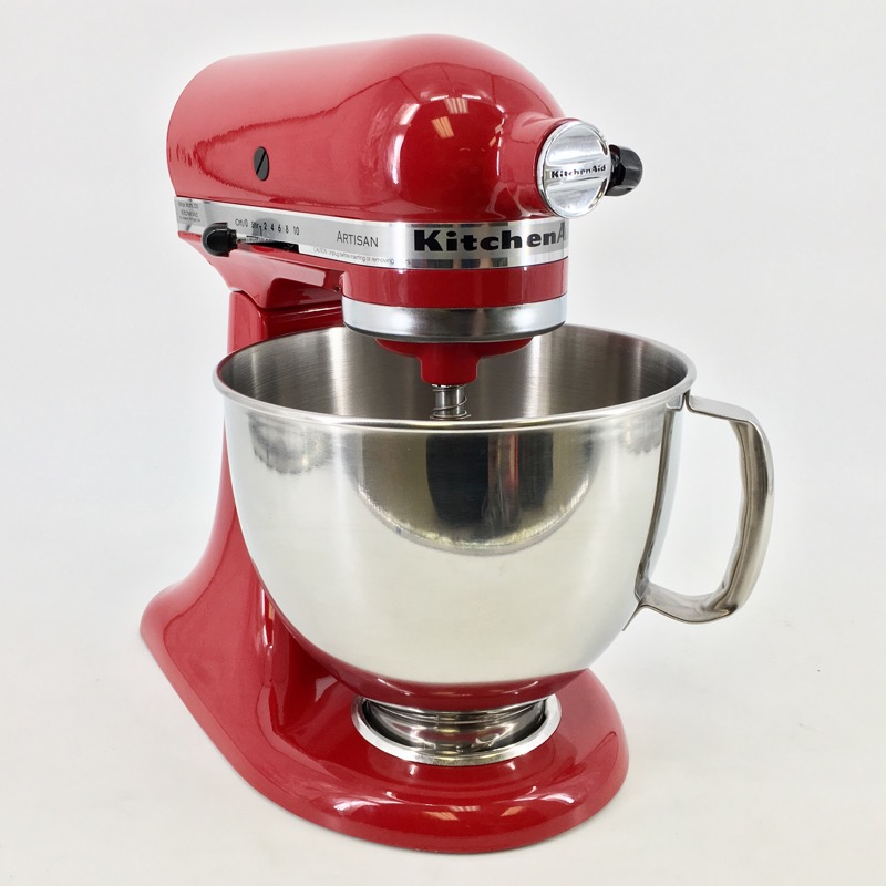 KITCHENAID MIXER RED KSM150PSER 5 QT TILT HEAD STAND MIXER IN BOX