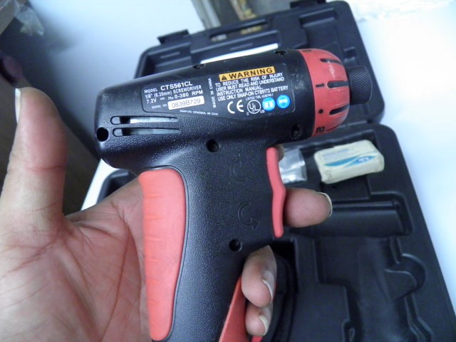 SNAP ON Cordless Drill CTS561CL