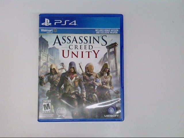 PS 4 ASSASSIN'S CREED UNITY