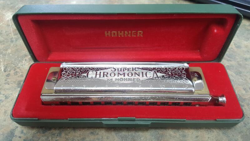 HOHNER Harmonica SUPER CHROMONICA 270