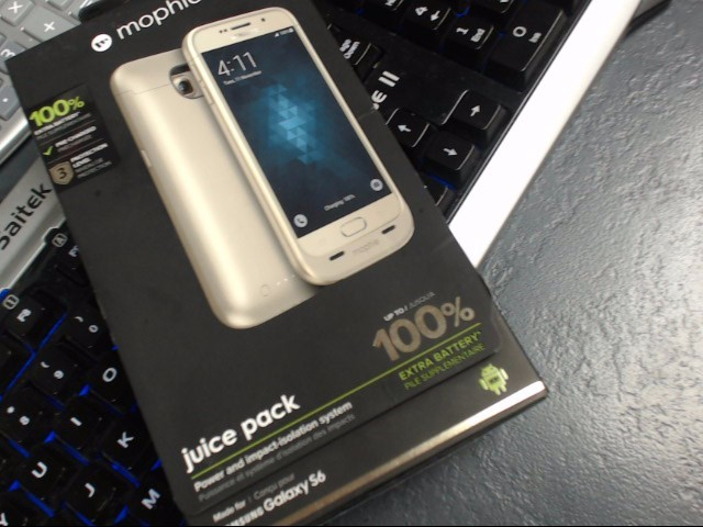 MOPHIE Cell Phone Accessory JUICE PACK SAMSUNG GALAXY S6 EDGE