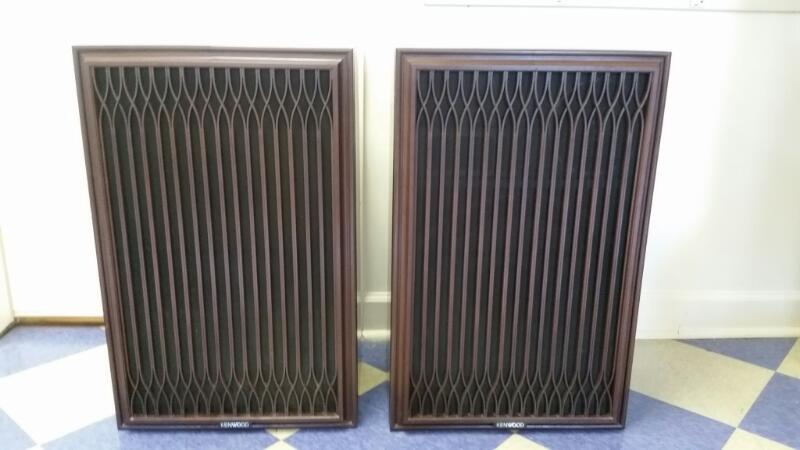 Pair of Vintage Kenwood Speaker KL-999DX 4 Way 6 Speaker System *LOCAL PICK UP*
