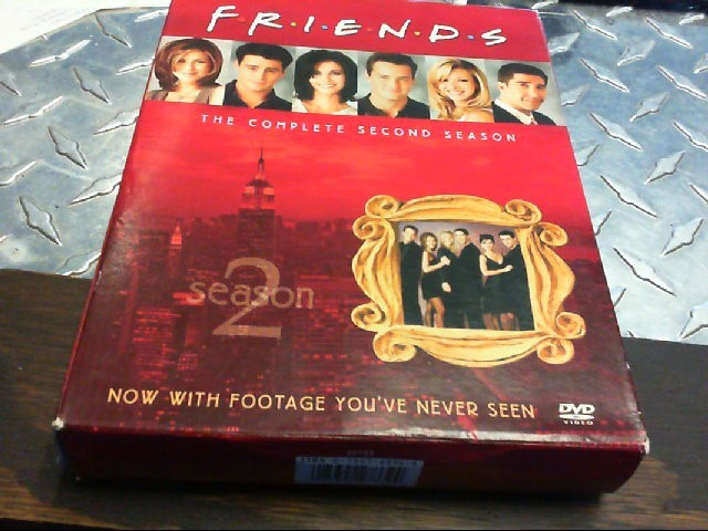 DVD BOX SET FRIENDS SEASON 2