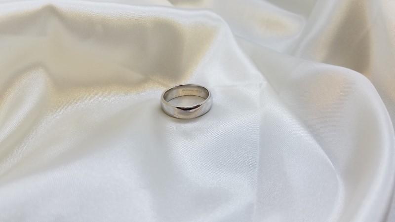 Gent's Gold Wedding Band 14K White Gold 8.7g Size:10