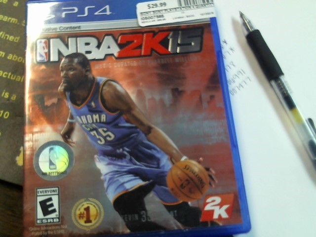 SONY PS4 NBA 2K15