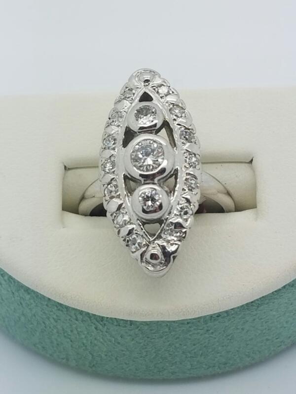 DIAMOND Lady's Diamond Fashion Ring DIAMOND_RING 10 Diamonds .54 Carat T.W.