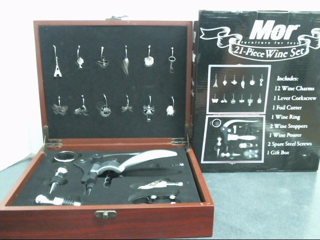 MOR FURNITURE FOR LESS Glassware 21 PIECE WINE SET