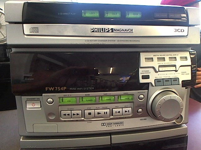 PHILIPS MINI-STEREO CD/TAPE DECK