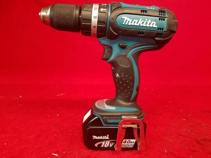 Makita BHP452 1/2 Hammer Drill & 18 Volt Lithium-Ion