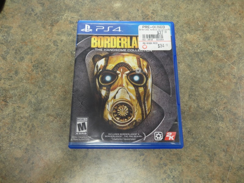 SONY Sony PlayStation 4 Game BORDERLANDS THE HANDSOME COLLECTION