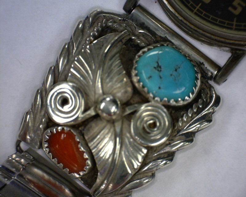 Synthetic Turquoise Silver-Stone Misc. 925 Silver 36.44dwt