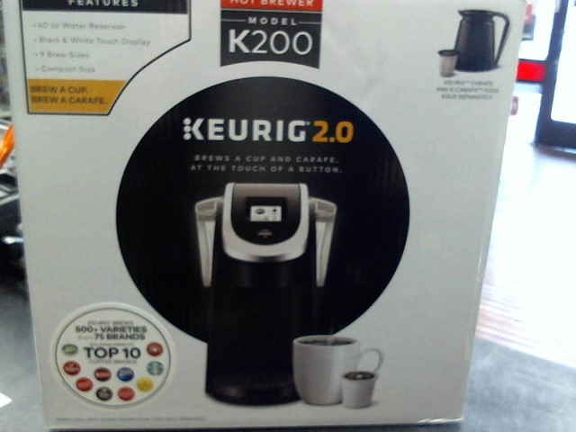 KEURIG Coffee Maker K200