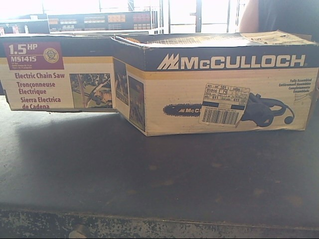 MCCULLOCH Chainsaw MS1415