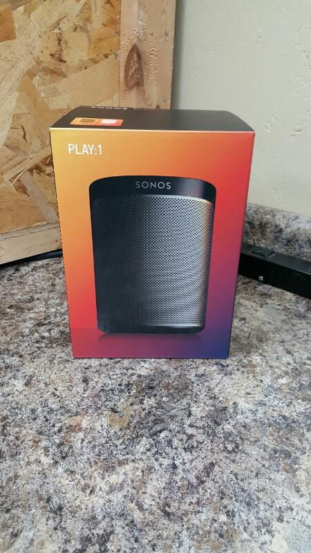 Sonos PLAY:1 Play 1 Compact Wireless Smart Speaker for Streaming Music - Black