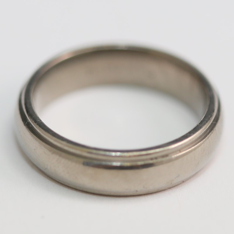 Titanium Wedding Band Size 8.5