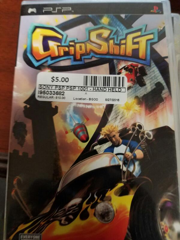 Grip Shift- PSP GAMES