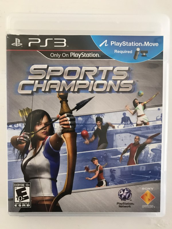 SONY PLAYSTATION 3 SPORTS CHAMPIONS PS3