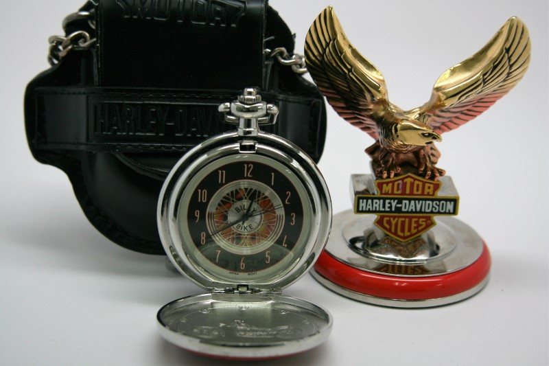 FRANKLIN MINT HARLEY-DAVIDSON POCKET WATCH