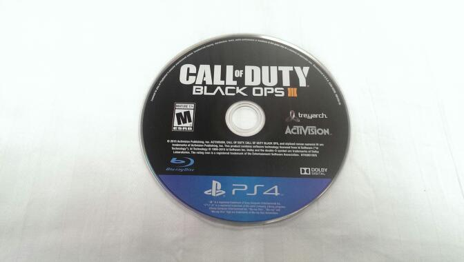 SONY CALL OF DUTY BLACK OPS III - PS4 DISC ONLY