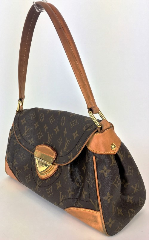 LOUIS VUITTON BEVERLY MM SHOULDER BAG MONOGRAM