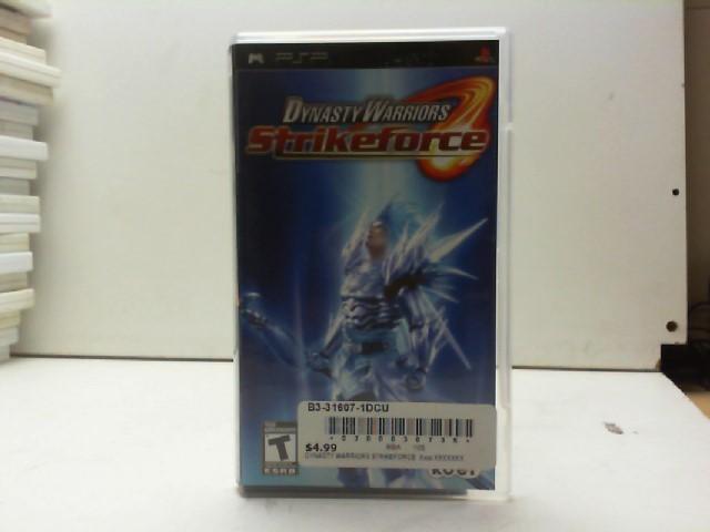 SONY Sony PSP Game DYNASTY WARRIORS PSP