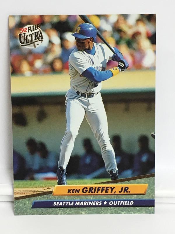 1992 FLEER KEN GRIFFEY JR. #123