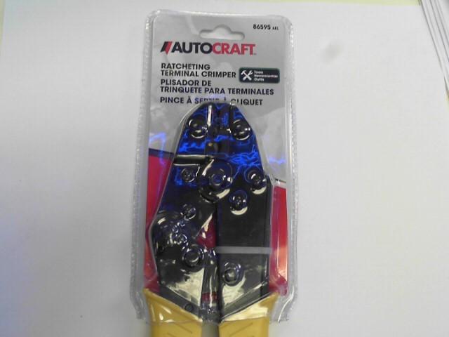 AUTOCRAFT Hand Tool 86595 RATCHETING TERMINAL CRIMPER