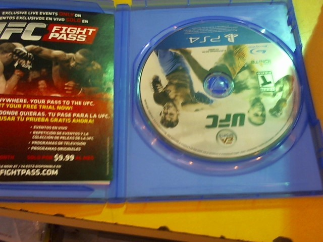 SONY Sony PlayStation 4 Game UFC - PS4