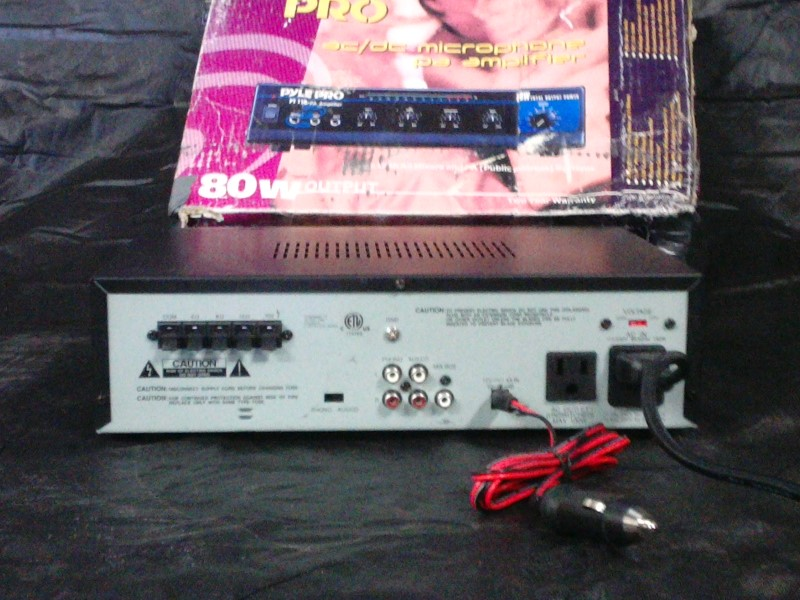 PYLE Amplifier PT1100