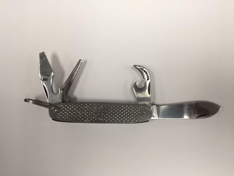 Vintage 1958 Camillus Military Issue Pocket Knife/Multi-Tool USA