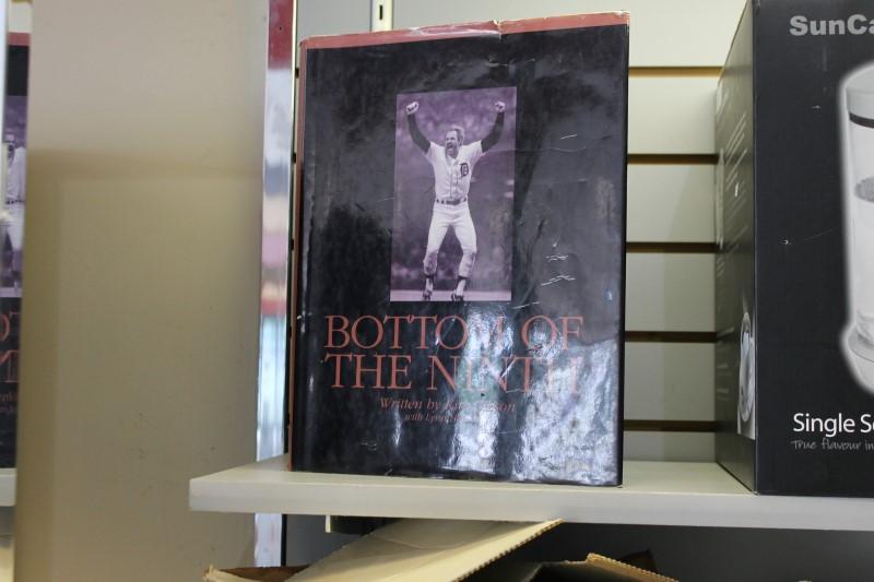 Baseball Bottom of the Ninth Book Kirk Gibson