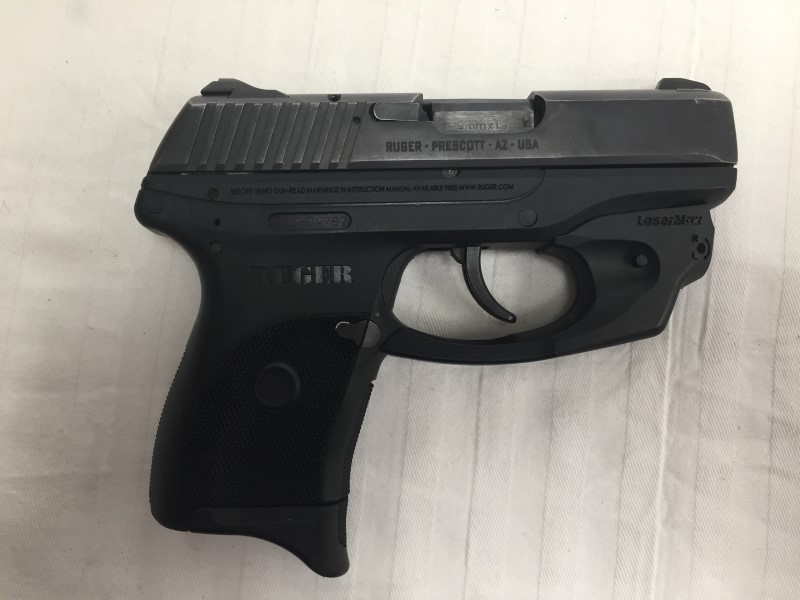 RUGER PISTOL LC9 WITH LASERMAX LASER