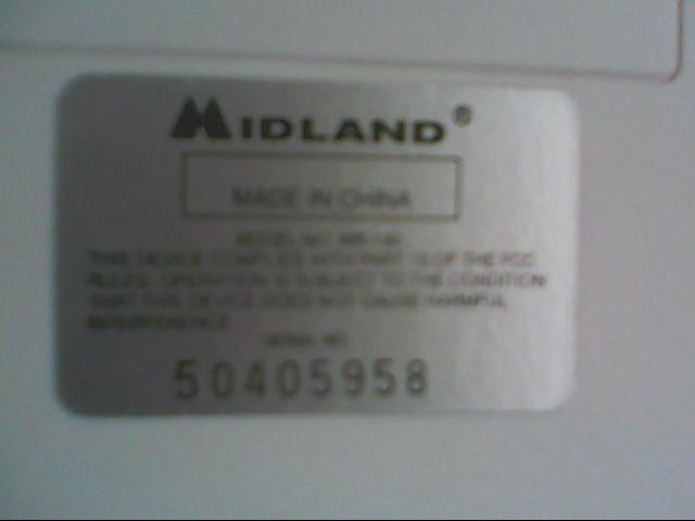 MIDLAND Radio WR-100