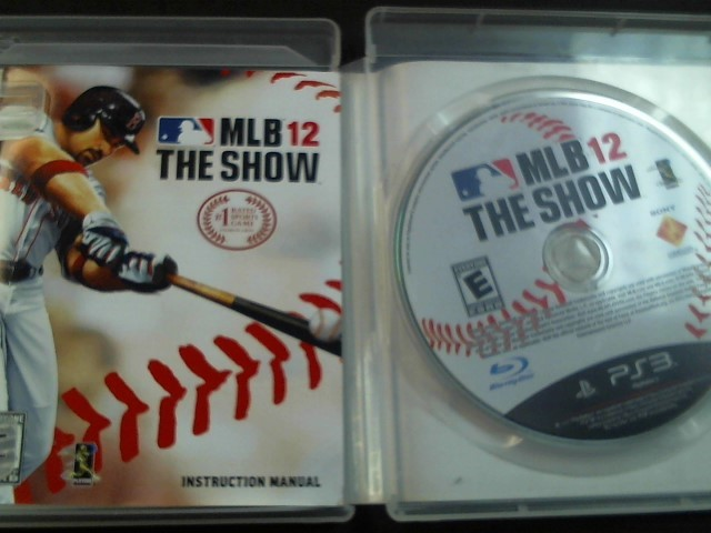 SONY Sony PlayStation 3 Game MLB 12 THE SHOW PS3