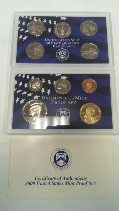 UNITED STATES 2000 MINT PROOF SET