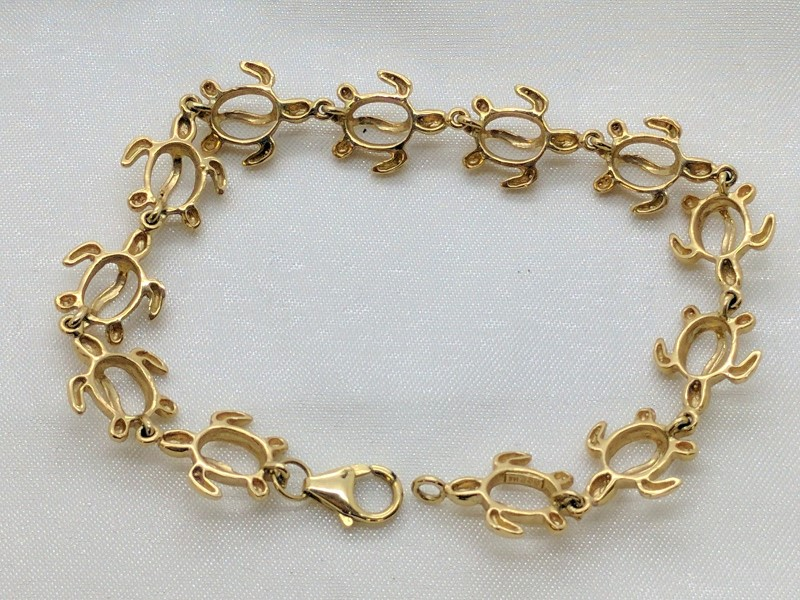 Gold Bracelet 14K Yellow Gold 11.8g