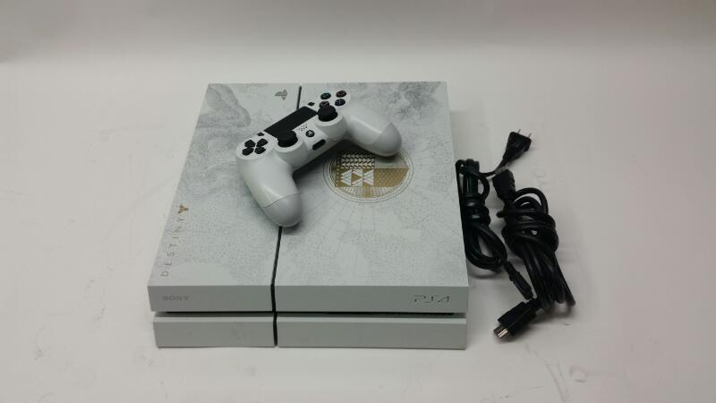 Sony Playstation 4 - White Destiny Game Console - 500 gb