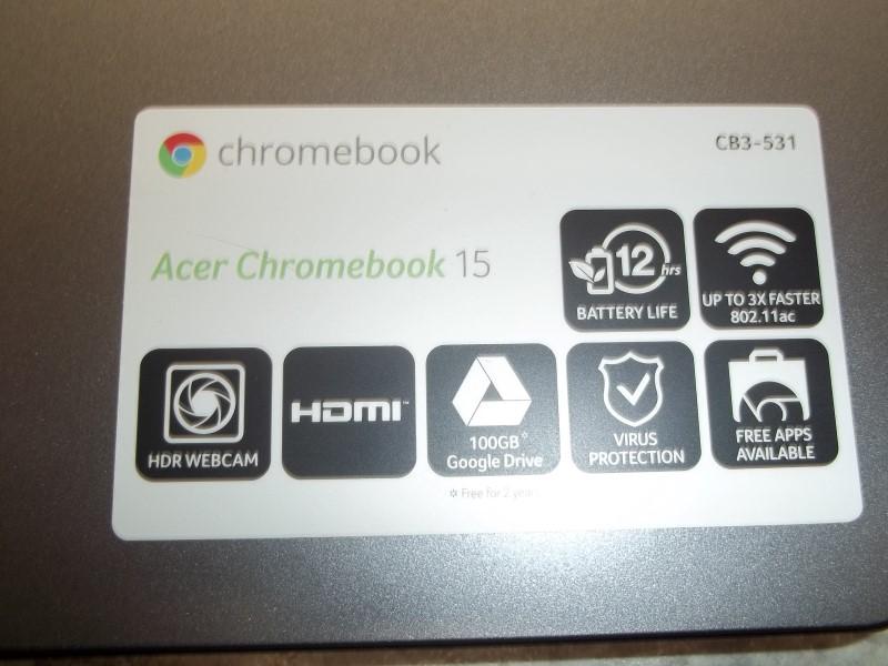 ACER CHROMEBOOK 15 CB3-531-C4A5