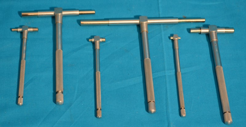 """China Made 6 Piece 5/16"""" - 6"""" Telescoping Gauage Set w/Carrier Case"""