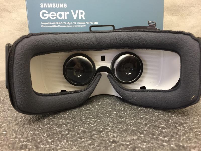 SAMSUNG GEAR VR SM-R322 HEADSET GALAXY S6 S7 NOTE5 EDGE