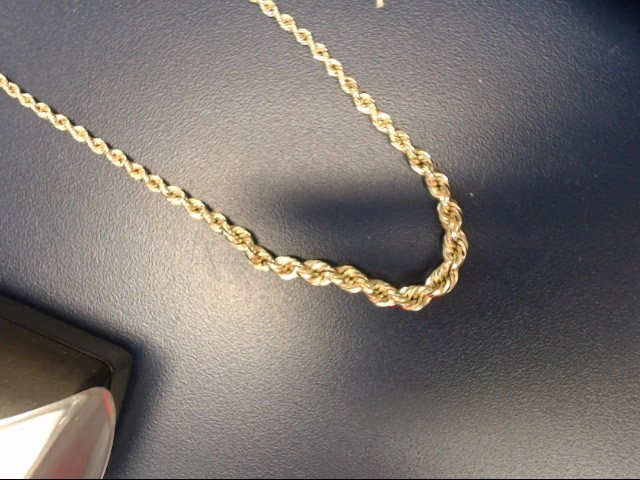 Gold Chain 10K Yellow Gold 2.16dwt