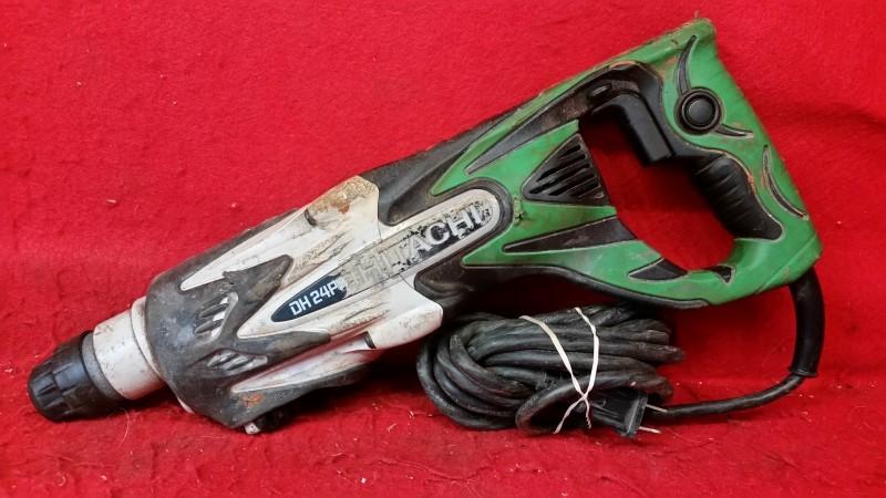 "Hitachi DH24PF3 15/16"" SDS Plus Rotary Hammer"